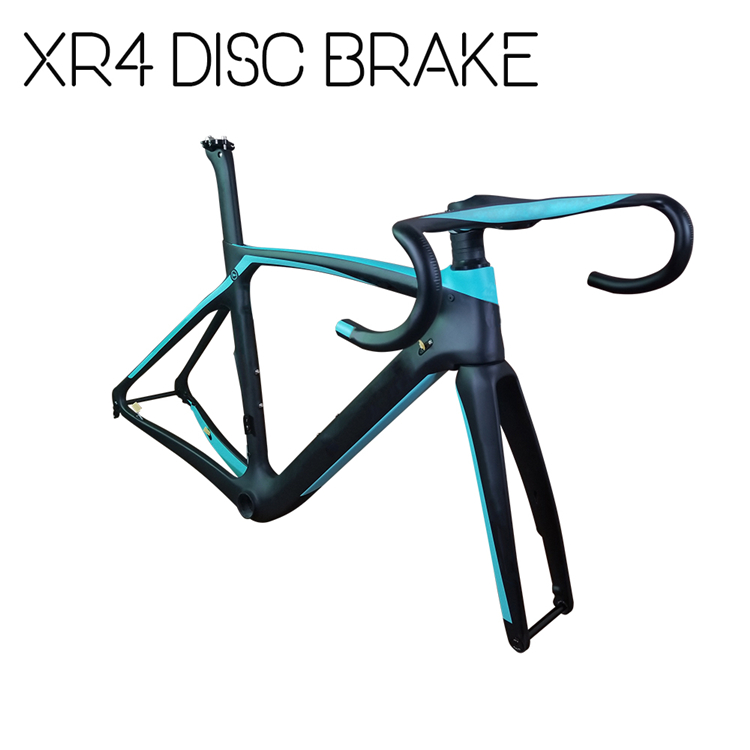 DISK XR4 Brand Logo T1100 carbon fiber road bike bicycle frame 50m 53cm  55cm  57cm with EMS XDB DPD express Free duty|Bicycle Frame| |  - title=