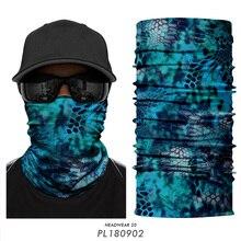 Military Mask Bandana Hunting Face Mask Kryptek Typhon Headband Army Camo Neck Gaiter Buff Scarf Tube Seamless Outdoors Camping