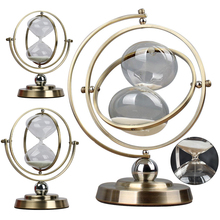 Creative Swinging Hourglass Swing Timer Desktop Decoration Ornaments Countertop Timing Tool Hourglass Gift Home Decoration