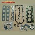 Для CHERY A3 или A5 или TIGGO 3 1.6L прокладка двигателя SQR481F 481H автомобильные аксессуары Полный комплект комплекты для восстановления двигателя ...