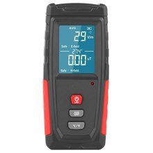 WT3121 Handheld Digital LCD EMF Meter Electromagnetic Radiation Tester Electric Field Magnetic Field Dosimeter Detector professional lcd digital electromagnetic radiation detector emf meter dosimeter tester radiation measurement tool