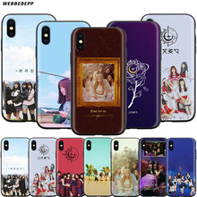 Webbedepp Gfriend Yeoja Chingu Case Voor Apple Iphone 11 Pro Xs Max Xr X 8 7 6 6S Plus 5 5S Se(China)