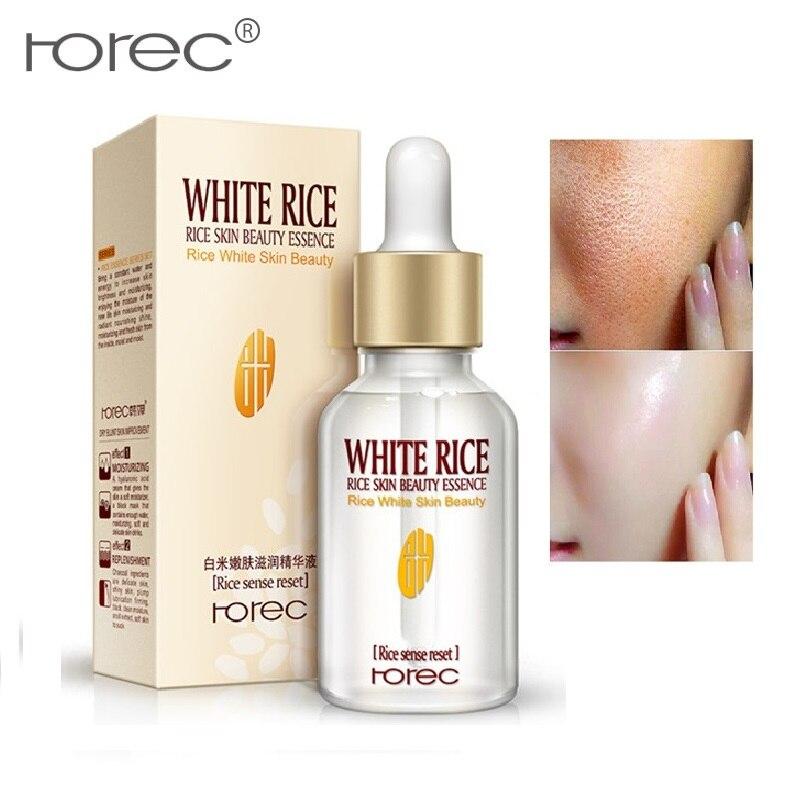 ROREC White Rice Face Serum Essence Moisturizing Anti Wrinkle Colagen Serum 24k Gold Serum Lifting Deep Firming Skin Care