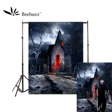 Beebuzz photo backdrop halloween new product creepy castle background take pictures of parties