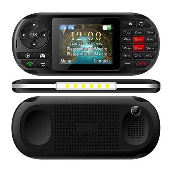 Gaming Phone UNIWA GP001 2019 New Built-in 400 games 2.8'' Screen 2500mAh Dual SIM SC6531E CPU Super Torch Speaker Mobile Phone