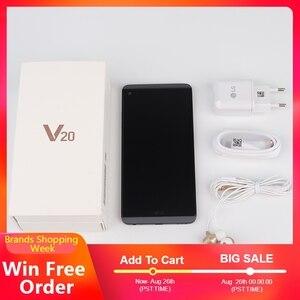Image 5 - Originale Sbloccato LG V20, telefoni cellulari e Smartphone 4GB 64GB Snapdragon 820 Dual Sim da 5.7 pollici 2560*1440 Dual 16MP 4G LTE Android cellulare
