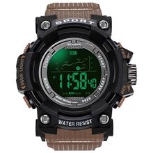 PANARS Military Digital Watches Brand Watch Digital LED Back Light Wristwatch Sport Mens Watch Luxury Men Military Army Clock tanie tanio Z tworzywa sztucznego 26 3inch 3Bar Cyfrowy Klamra ROUND 22mm 19 3mm Akrylowe Stoper Podświetlenie Odporny na wstrząsy