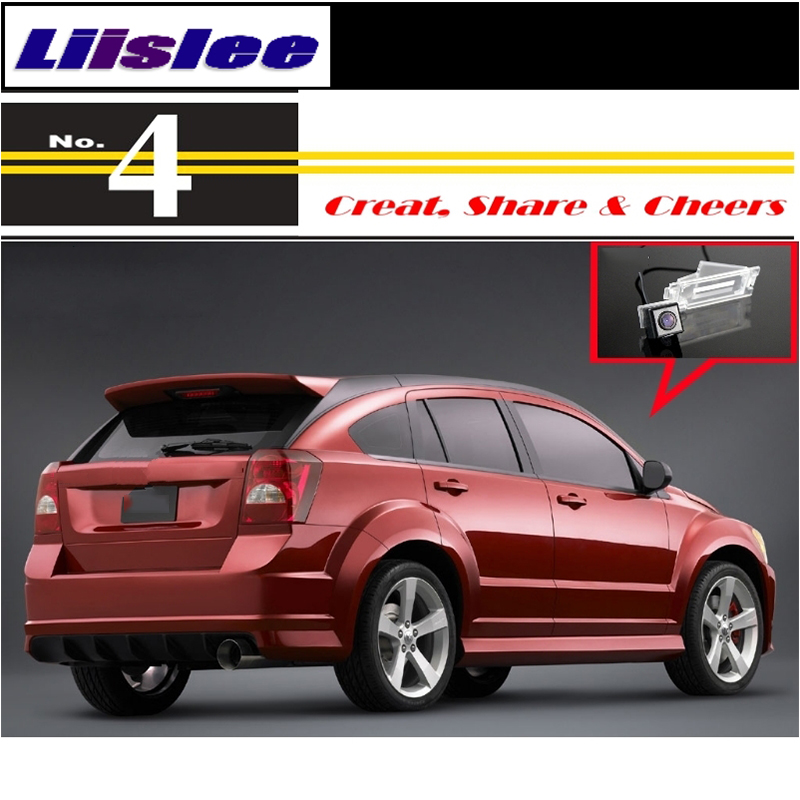 Liislee For Dodge Caliber 2007~2012 High Quality Rear View Back Up Camera Car Camera For PAL : NTSC to Use : CCD + RCA6