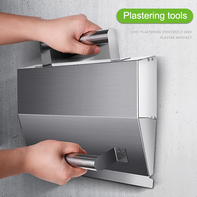 Quick Stainless Steel Concrete Wall Plaster Scraper With Handle TN88