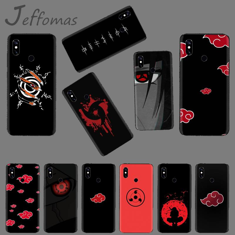 Чехол для телефона с японским аниме Учиха Итачи, Наруто, для Xiaomi Mi A1 A2 5 6PLUS 8 9 SE Lite MIX 2 2S MAX 2 3 Pocophone F1
