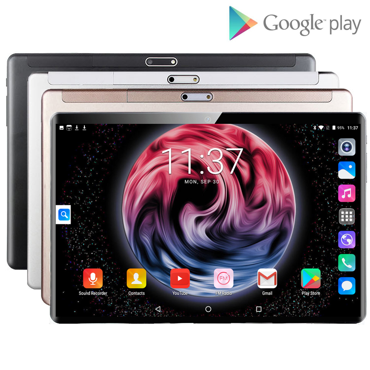 Hot Sale 10.1 Inch Tablet PC Android 8.0 Octa Core 6GB+128GB Google Store 4G LTE Smartphone Android WIFI Tablet Pc For Kids