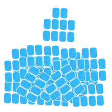 100 Hydrogel Sheets Gel Pad Abdominal Trainer Stickers Fitness Muscle Stimulator