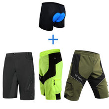 Cycle-Shorts Downhill MTB Mountain-Bike WOSAWE Outdoor Fit Men Loose