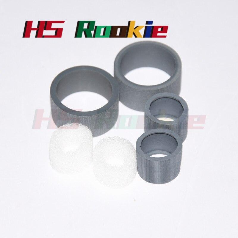 1sets New  Scanner Pick Up Roller For Canon DR-C125 DR-C225 Scanner Roller Tire