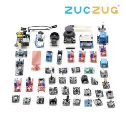 For arduino 45 in 1 Sensors Modules Starter Kit better than 37in1 sensor kit 37 in 1