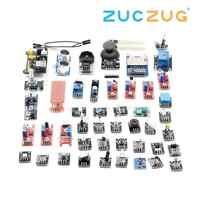 Per arduino 45 in 1 Sensori di Moduli Starter Kit meglio di 37in1 kit sensore di 37 in 1