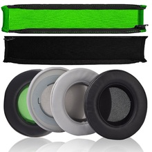 Replacement Earpads Cushion for Razer Kraken Pro V2 Protect Headband Headbeam for Razer Kraken 7.1 V2 / Kraken V2 Headphone 100% original razer kraken pro gaming headset with wire control headphones