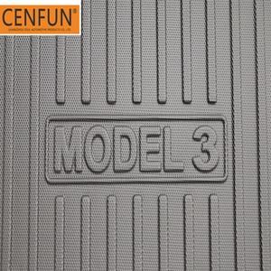 Image 3 - Tapis de sol et de coffre sur mesure, pour Tesla modèle 3 4D, toutes saisons, multicouches, Laser antidérapant personnalisé
