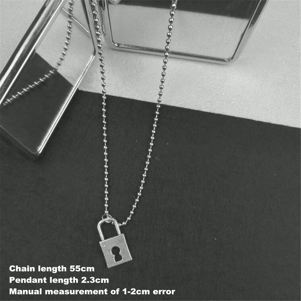 Vintage Harajuku Stainless Steel Beads Chains Dollars Stars Moon Angel Cross Love Jesus Necklaces Men Punk Hip Hop Jewellery