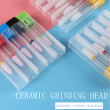 1 Pc Ceramic Nail Grinding Head Electric Nail Files Nail Drill Bit Milling Cutter For