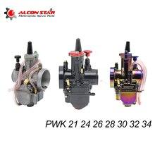 Alconstar- Universal 21 24 26 28 30 32 34 2T/4T PWK دراجة نارية المكربن Carburador السلطة النفاثة لياماها Mikuni Koso ATV سوزوكي