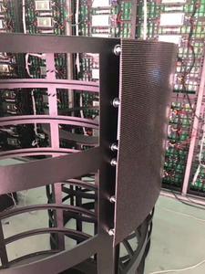 Image 4 - P2 P2.5 P3 P4 flexible led panel module   round curve creative irregular shape led display led video wall