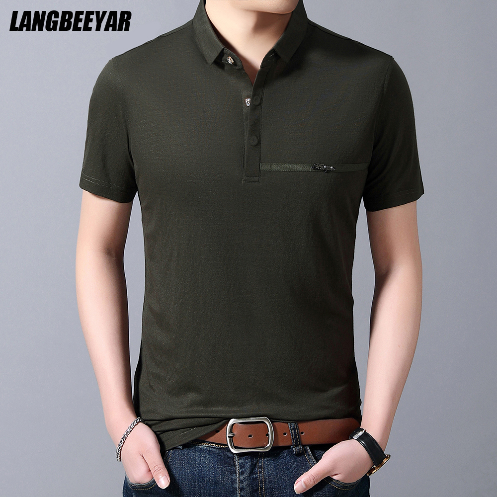 Best Top Korean Men Polo List And Get Free Shipping A657