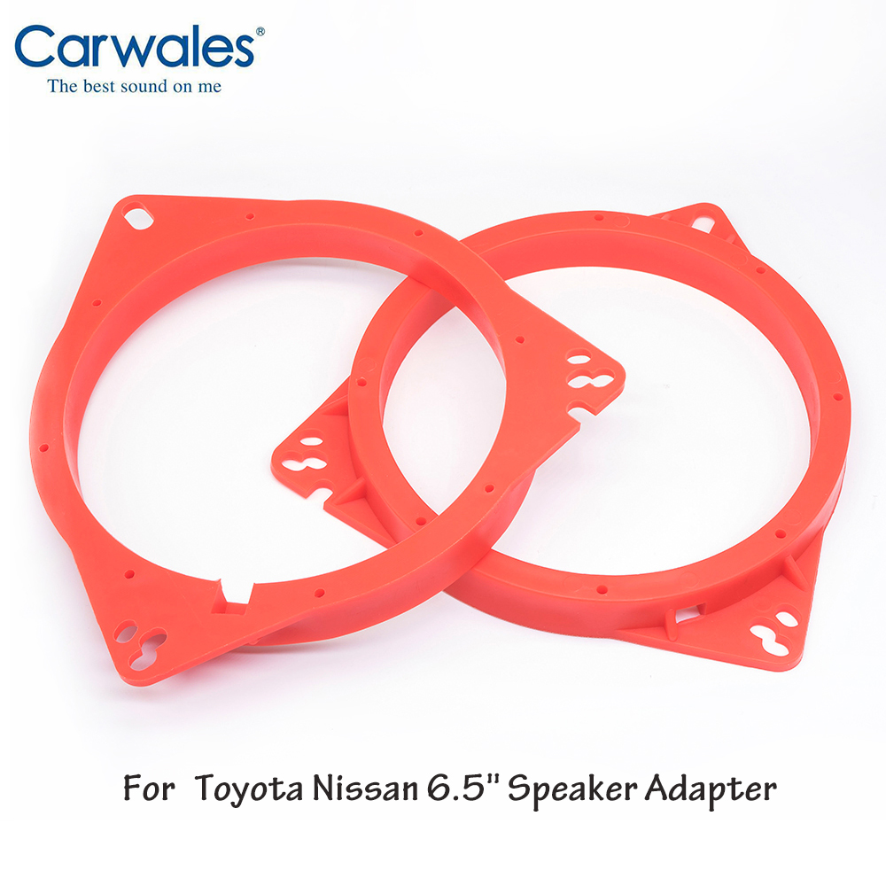 "4/""//5/""//6.5/"" inch Car Speaker Adapter Brackets Ring Mounting Spacer Adaptor Plate"