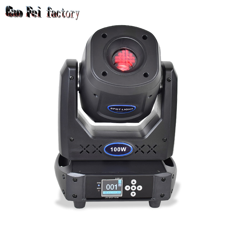 Stage Light Moving Head High Brightness Focus 100W Gobo Color With Prism For DMX DJ Stage