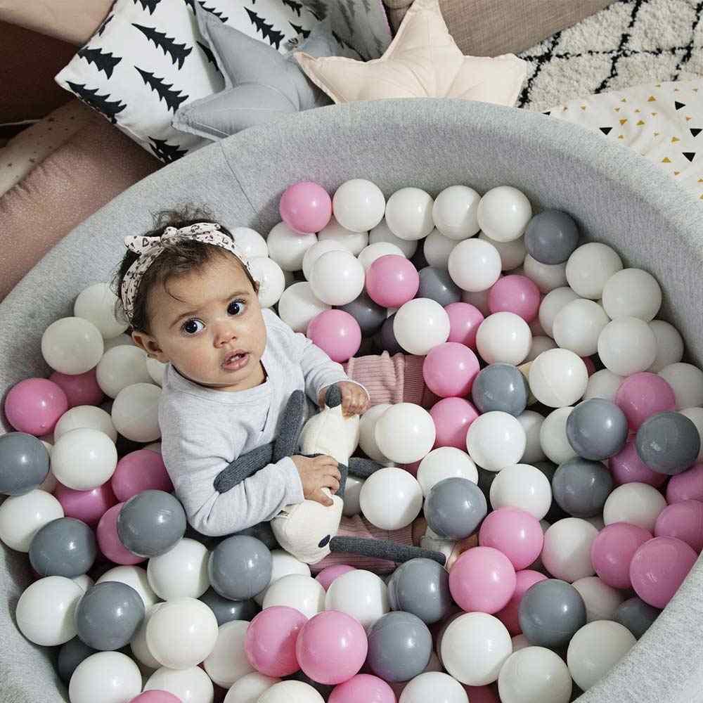 400 Buah/Banyak Bola untuk Kering Kolam Renang Bola Plastik Gelombang Laut Bola Anak Berenang Pit Dry Kolam Renang Rumah Bermain Di Luar Ruangan tenda Mainan