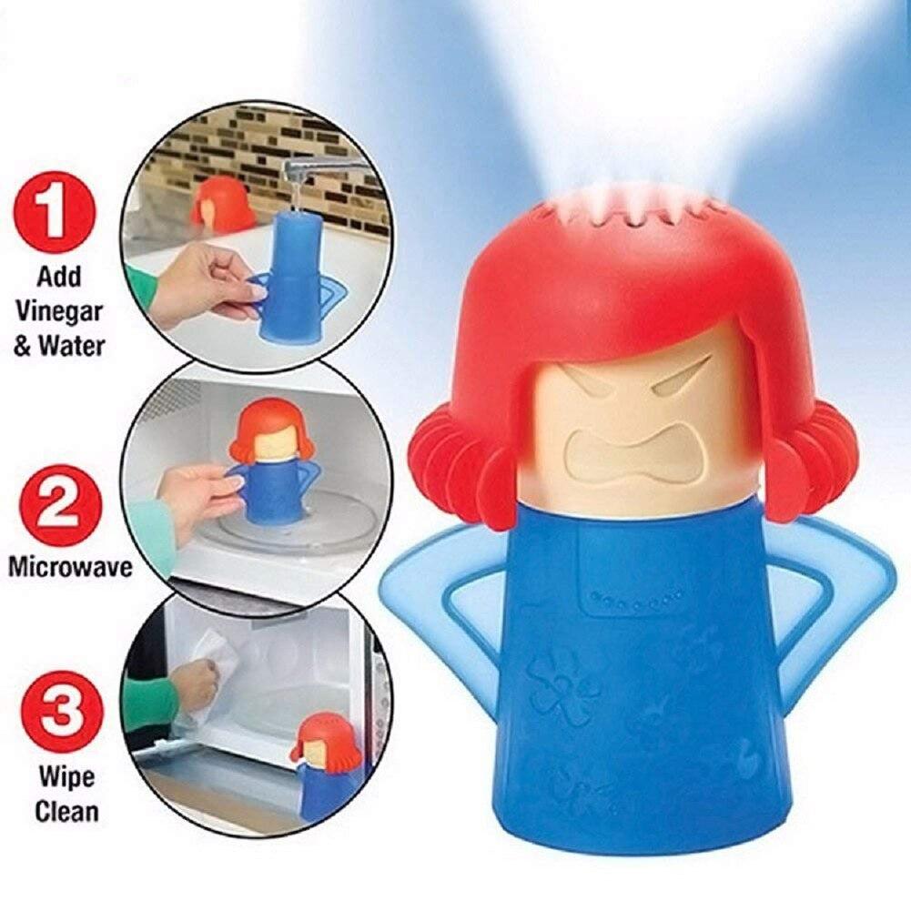 Meijuner Kitchen Mama kuchenka mikrofalowa łatwe czyszczenie kuchenka mikrofalowa odkurzacz parowy urządzenia do czyszczenia lodówki w kuchni