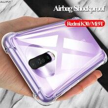 Shockproof Case For k30 redmi xiaomi k30 k20pro Silicone Cases On K20 Xiomi Mi9T Pro Cover Case xaomi k 30 redmi-k30 4G/5G Shell shockproof case for k30 redmi xiaomi k30 k20pro silicone cases on k20 xiomi mi9t pro cover case xaomi k 30 redmi k30 4g 5g shell
