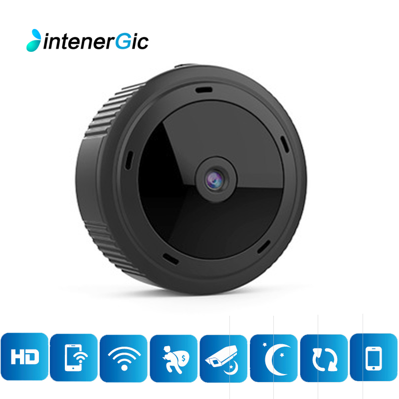 Mini WiFi  1080P HD IR Night Vision Home Security  Camera CCTV Motion Detection Baby Monitor Wireless DVR Camcorders ip cam Surveillance Cameras     - title=
