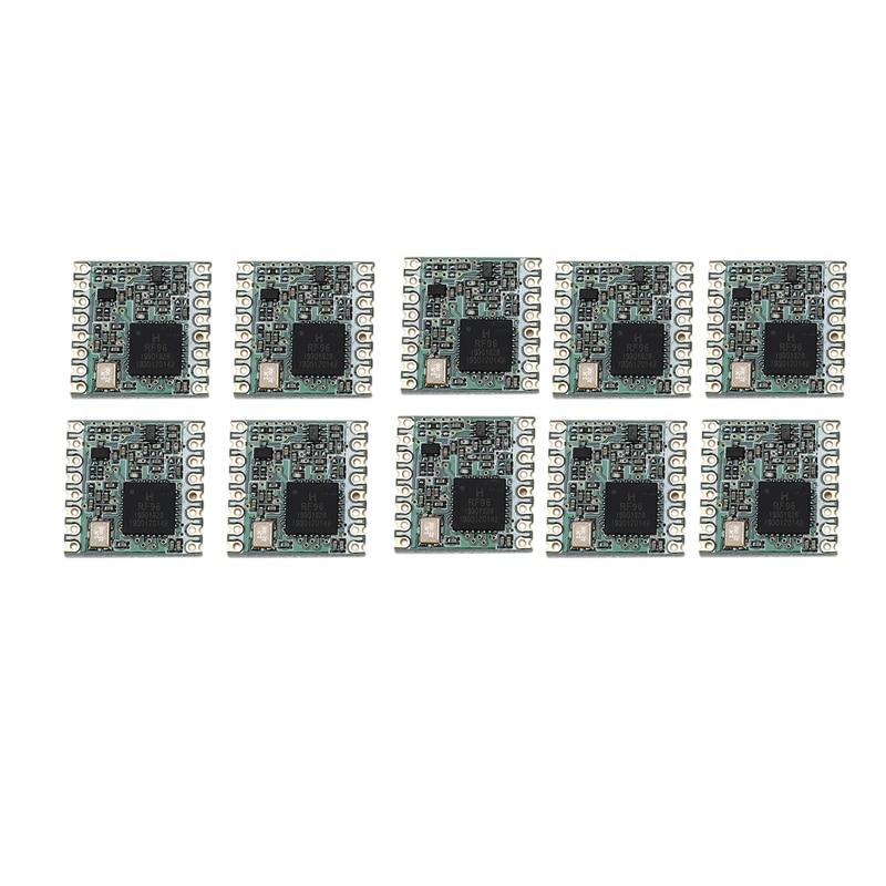 10PCS/LOT RFM95 RFM95W 915Mhz RFM95-915MHz LoRaTM Wireless Transceiver SX1276