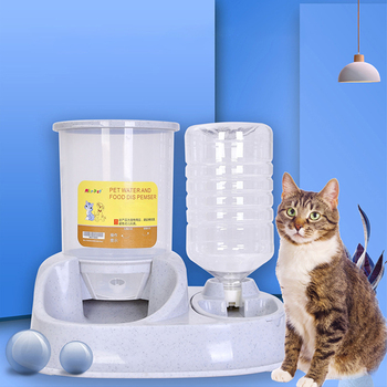 4L Automatic Cat & Dog Feeder - Large Capacity Cat Water Fountain  1