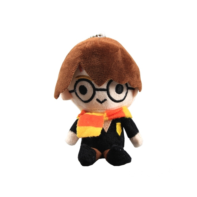 5 Styles Movie Ron Malfoy Plush doll toys Kawaii Keychain bag pendant Classic Toys Children Christmas Birthday Gift 10-14 cm