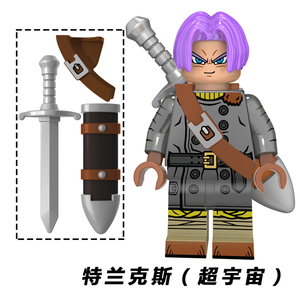 Image 3 - Neue Dragon Ball Z Torankusu Vegeta Anime Goku Tien Shinhan Bausteine Ziegel action figur Kinder Cartoon Spielzeug