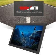 Портативный HD tv 1080p HD Televizyon tv Leadstar 14 дюймов dvb-цифровое ТВ(американский Калибр питания) автомобильный телевизор