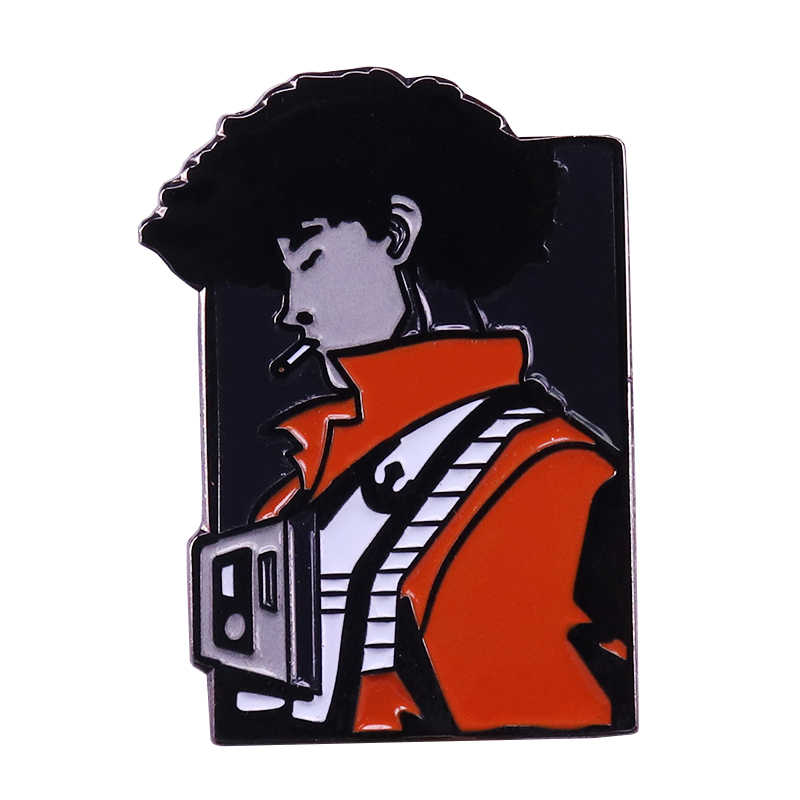 Cowboy Bebop Spike Roken Broche Anime Geïnspireerd Classic Collectable