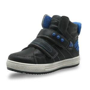Image 2 - Apakowaเด็กวัยหัดเดินเด็กกลางแฟชั่นรองเท้าข้อเท้ากีฬากลางแจ้งกีฬารองเท้าวิ่งHook and LOOPรองเท้าผ้าใบสำหรับLittle Boys