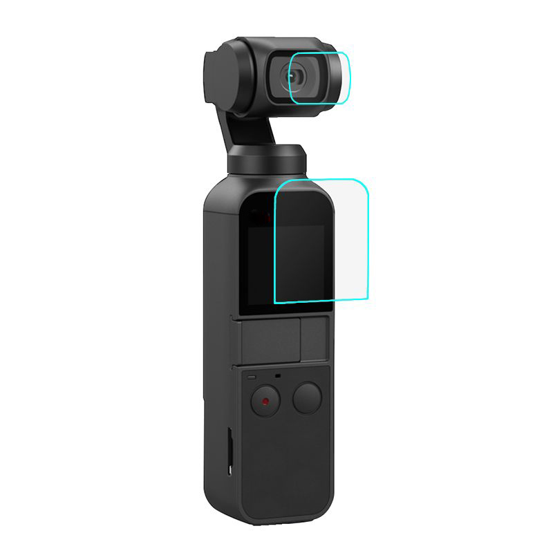 2019 New Screen Protector Film Lens Cover For DJI OSMO Pocket Accessories Tempered Glass Lens Film Shield Guard Set Ultra-thin