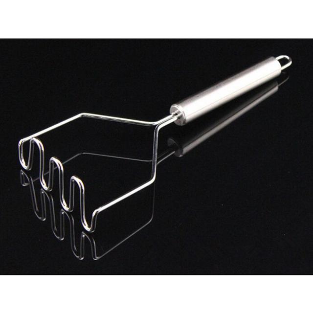 1 pièces acier inoxydable cuisine gadget pomme de terre maher presse outil de cuisson purée de pommes de terre ondulé pression ricer accessoires de cuisine 2