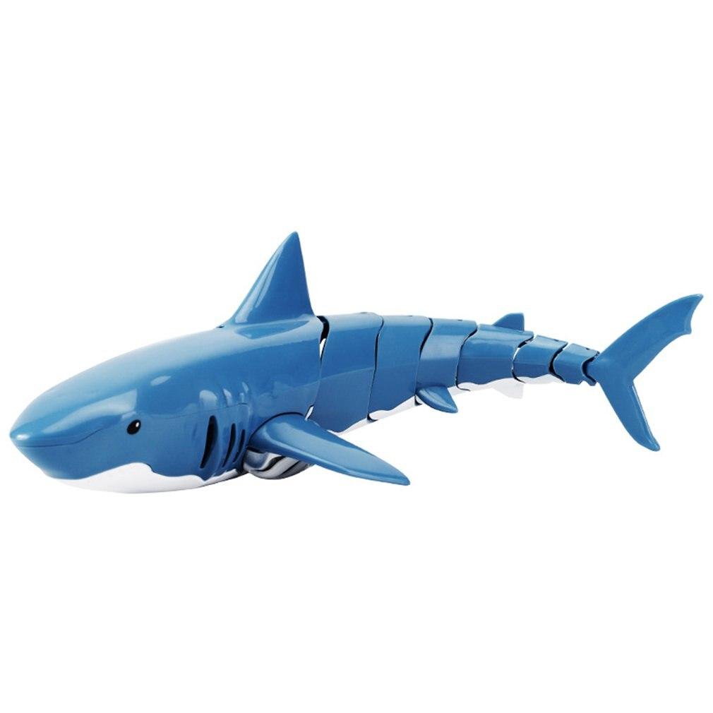 Tiburón de Control remoto a prueba de agua simulación de modelado 2,4g tiburón simulación de modelado conjunto de carga Flexible tiburón