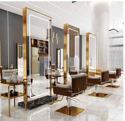 Barbershop spiegel web celebrity eenvoudige vloer te plafond spiegelkast muur muur kapsalon spiegel gewijd mode