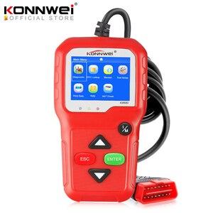 Image 1 - 100% Original OBD2 Scanner Automotive Scanner KONNWEI KW680 OBD 2 EOBD Car Diagnostic Scanner Fault Error Code Reader Scan Tool