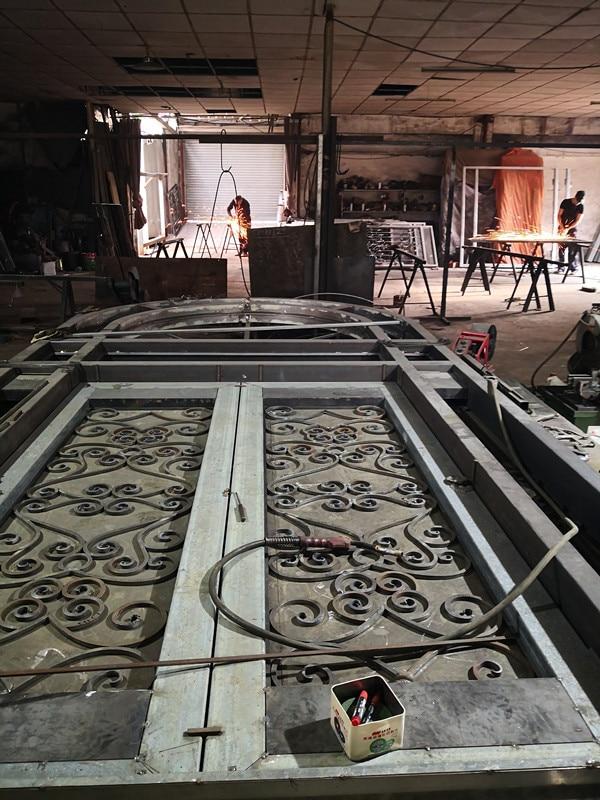 Shanghai Hench Brand China Factory 100% Custom Made Sale Australia Wrought Iron Screen Doors