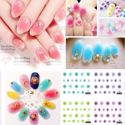Nail Sticker Blush Fat A Ellipse Series Water Transfer Nail Decals Decal 12-