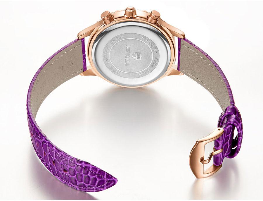 Montres À Quartz Femmes Bracelet en Cuir