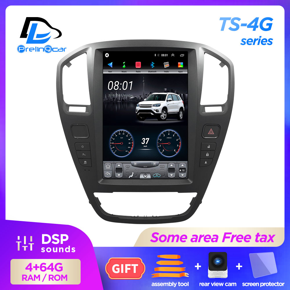 12.8 Inch 4G Lte Vertical Screen Android Multimedia Video Radio Player For Opel Old Insignia 2009-2013 Years Navigation Stereo