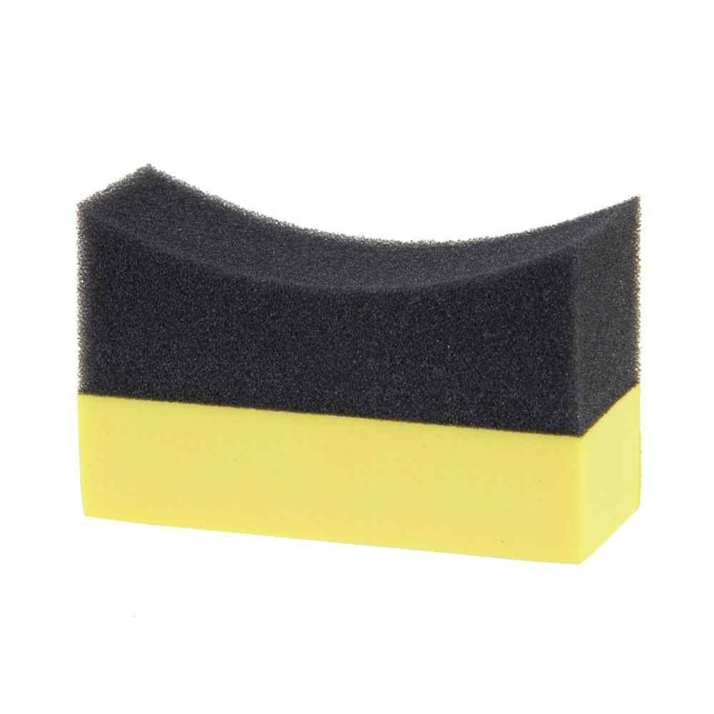 Multifuncional para coche, Herramientas de limpieza con cepillo limpiador de esponja para ruedas de coche, para cubo de neumáticos, Herramientas de limpieza con cepillo de pulido y encerado